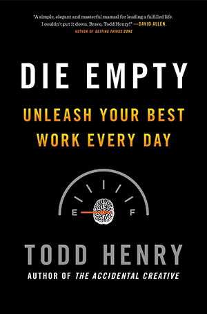 die empty book cover